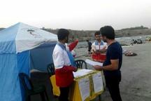 300 گردشگر در ساحل دز امدادرسانی شدند