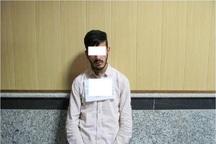 سارق حرفه ای تجهیزات خودرو در اردبیل دستگیر شد