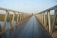 خرابی پل شناور کرخه مانع اعزام خودروهای آتش نشانی برای مهار آتش سوزی شد