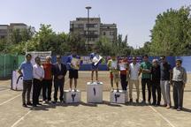 تنیسورهای نوجوان برتر کشور در شهرکرد مشخص شدند