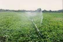 دوسوم زمین های کشاورزی به آبیاری نوین مجهز شده است