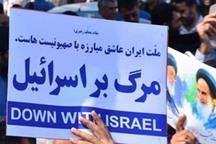 راهپیمایی ضد آمریکایی-اسرائیلی در قزوین برگزار شد