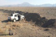 واژگونی خودرو در سبزوار 6مصدوم داشت
