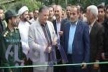 بهره برداری از آسفالت راه روستایی روستای رزکه بخش امام زاده عبدالله آمل