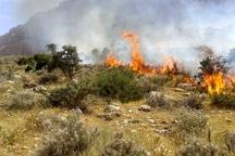 مهار آتشسوزی در منطقه دیزمار آذربایجانشرقی