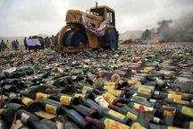 کشف و امحا 8 هزار بطری انواع مشروبات الکلی در سردشت