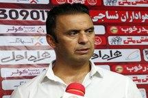 پاشازاده :نساجی قائمشهر هدفی جز لیگ برتری شدن ندارد