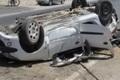 تصادف در محور جهرم به شیراز یک کشته و 2 مصدوم در پی داشت