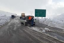 43 خودروی گرفتار در برف در اندیکا رهاسازی شدند