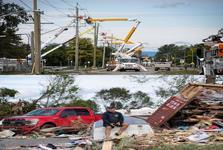 طوفان خسارت بار در کانادا+ تصاویر