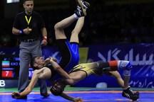 کشتی گیران کرمانشاه 5 مدال از مسابقات کشوری کسب کردند