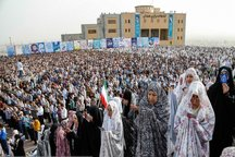 نماز عید سعید فطر در همدان اقامه شد