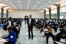 ششمین آزمون استخدامی دستگاه های اجرایی در قزوین برگزار شد