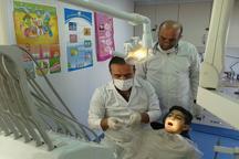 ارائه خدمات رایگان دندانپزشکی در مناطق محروم آستارا
