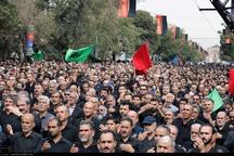 قزوین در عاشورای حسینی به سوگ نشست