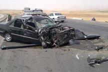 حادثه رانندگی در حوالی سد الغدیر ساوه هشت مصدوم داشت
