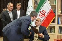اعطای حکم سرپرستی شهرداری تبریز به اسحقی