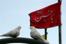 بیرق عزای امام حسین(ع) در بلندای شهرهای خوزستان افراشته شد