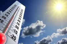 دمای همدان افزایش می یابد