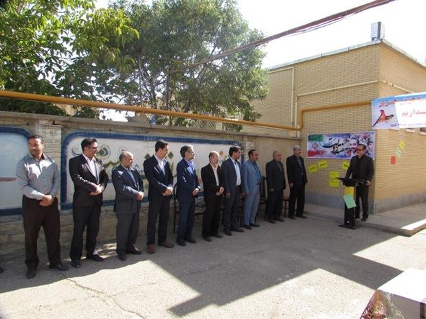 سیستم گرمایشی 26 مدرسه فامنین استاندارد سازی شد