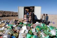 بیش از 13 تن مواد غذایی فاسد در همدان معدوم شد