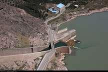 رهاسازی آب سد سفیدرود گیلان