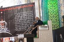 آیین سوگواری شهادت امام رضا (ع) در مسجد جامع زاهدان برگزار شد