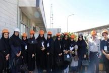 بازدید خبرنگاران خبرگزاریهای استان گیلان از انبار نفت رشت