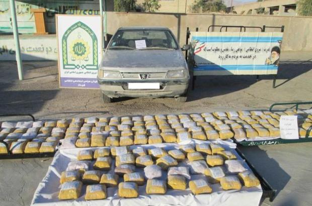 30 کیلوگرم مواد مخدر در دلیجان کشف شد
