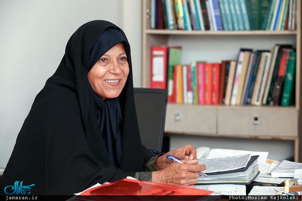 فائزه هاشمی: همه شهروندان باید بتوانند سوار قطار انقلاب شوند