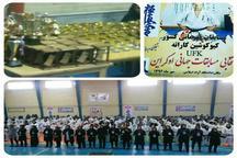 بانوان کاراته کای استان کرمان بر سکوی قهرمانی ایستادند