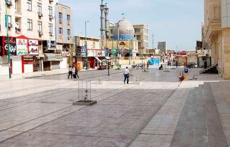 پیاده راه حافظ بندرعباس آماده بهره برداری شد