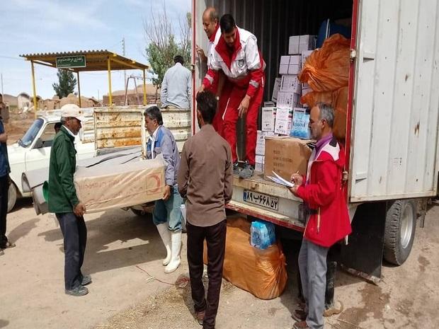 امدادرسانی در برخی مناطق خراسان جنوبی ادامه دارد