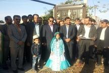 افتتاح چند واحد تولیدی و عمران روستایی در دشتی و دیر