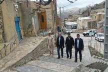 80 میلیارد ریال برای احیا و مرمت بافت روستای عنبران علیا هزینه شد