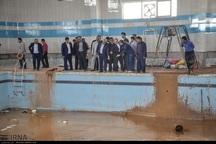 سیلاب 130میلیارد ریال به اماکن ورزشی پلدختر خسارت زد