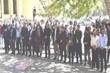 برگزاری تجمع اعتراضی دانشگاهیان دانشگاه شهرکرد