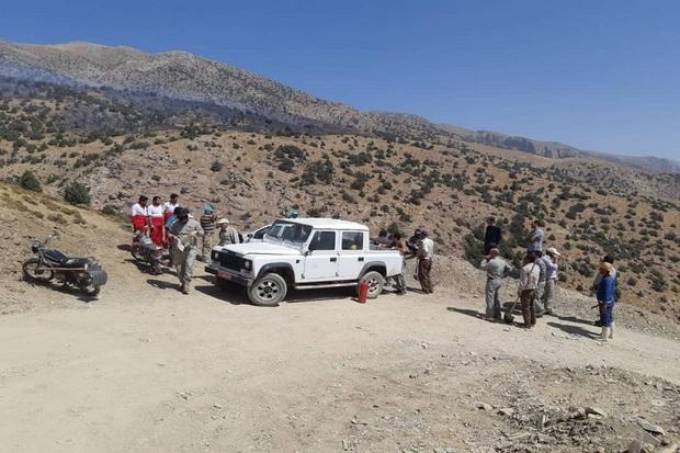 آتشسوزی در مراتع الموت غربی قزوین مهار شد
