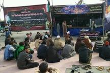 موکب شهدای ناجا در نقاط سیل زده خوزستان برپا شد