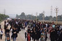 بزرگترین پیاده روی رضوی جنوب غرب کشور در بهبهان برگزار شد