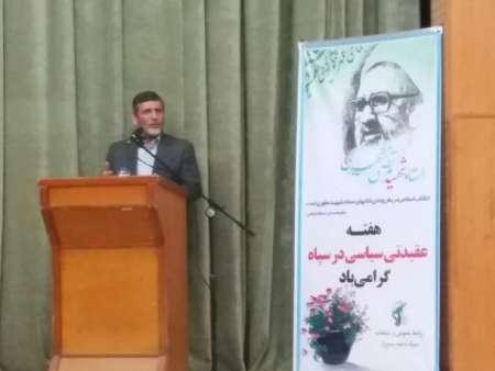 صفار هرندی: نقش سپاه در انتخابات بصیرت افزایی است