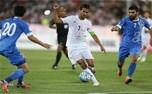کری خوانی مسعود شجاعی برای همگروهان ایران در جام جهانی ۲۰۱۸