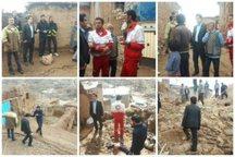 بارندگی موجب تخریب 98 واحد مسکونی روستایی در کاشمر شد