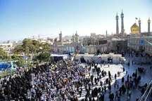 پیکر مطهر 6شهید مدافع حرم در قم تشییع و به خاک سپرده شد