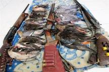 دستگیری متخلفان شکار مرغابی و کبوتر در شوشتر