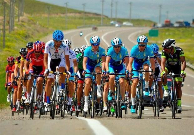 مسابقات دوچرخه سواری استان مرکزی در اراک برگزار شد