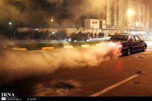 51 خودرو چهارشنبه پایان سال در همدان توقیف شدند