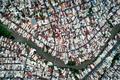 عکس روز نشنال جئوگرافیک؛ تصویری هوایی از منطقهای در شهر هوشی مین ویتنام