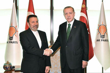 واعظی پیام رئیسجمهور روحانی را به اردوغان تسلیم کرد
