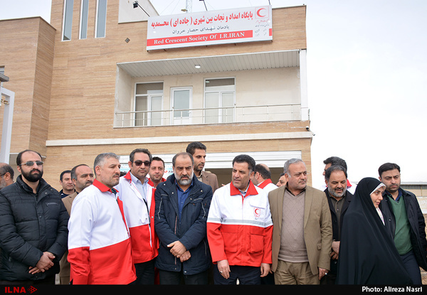 ساختمان پایگاه امداد و نجات جادهای محمدیه به بهرهبرداری رسید